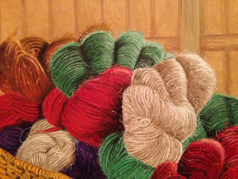 """So Much Yarn, So Little Time"""