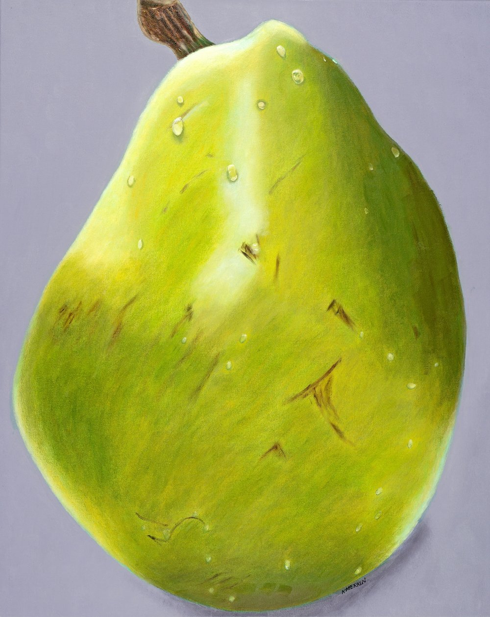 """Large Anjou Pear"""