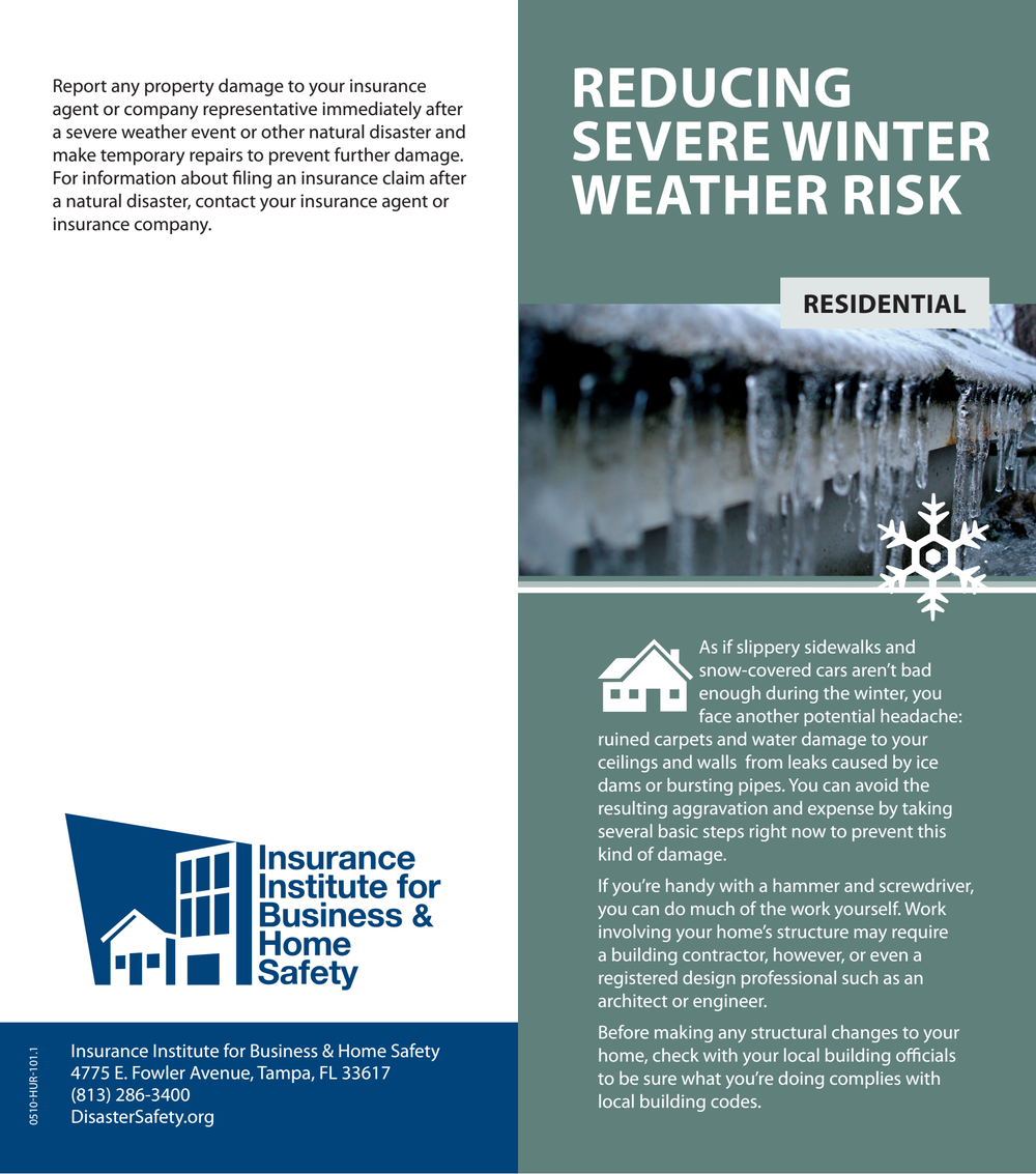 Reducing Severe Winter Weather Risk