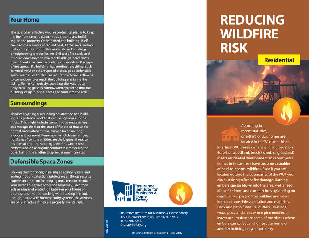 Reducing Wildfire Risk