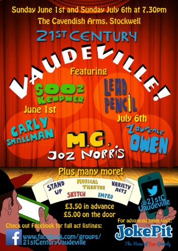 21st Century Vaudeville JokePit