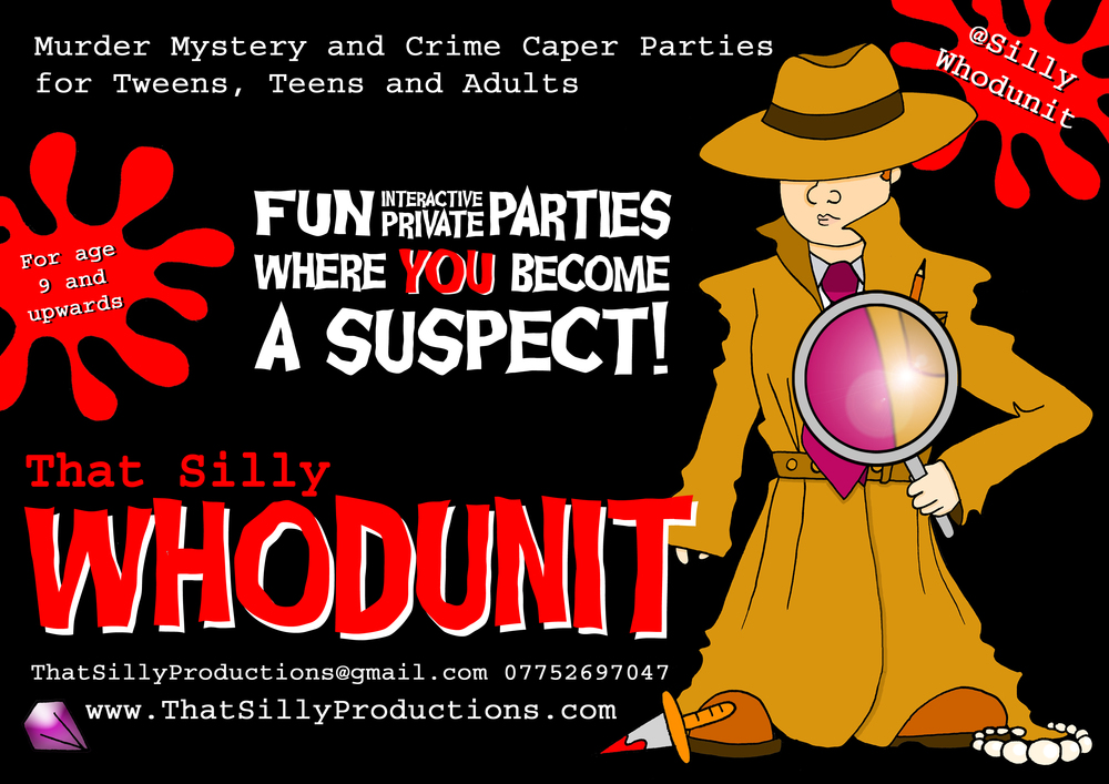 That Silly Whodunit Flyer