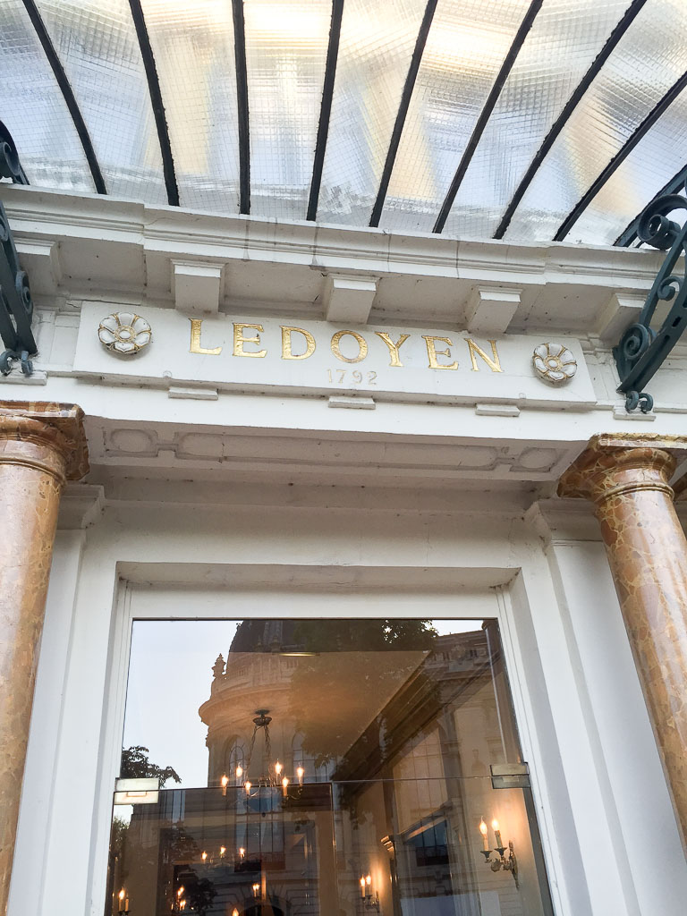 Pavilion Ledoyen Main Entrance
