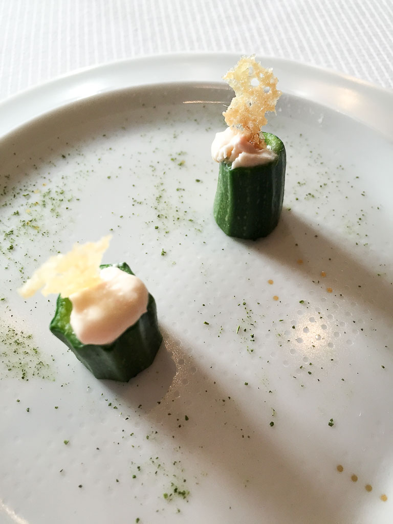 1st Course: Cucumbers, 8/10