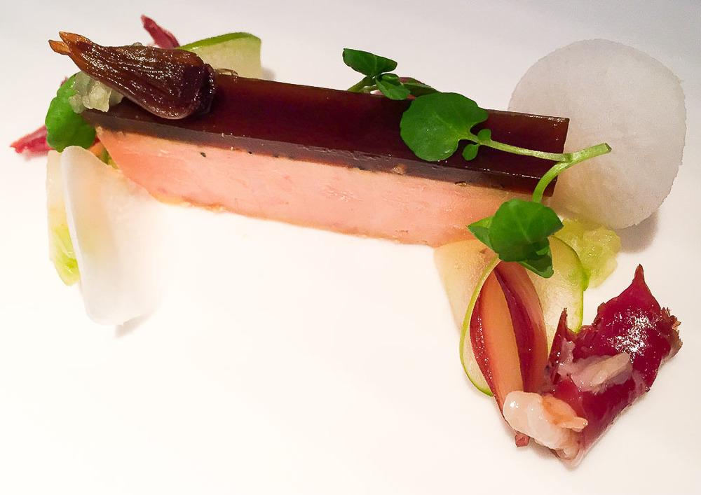 1st Course: Foie + Duck, 9/10