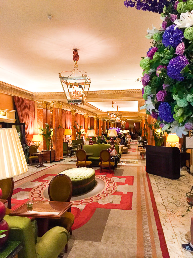 The Dorchester Hotel Lobby
