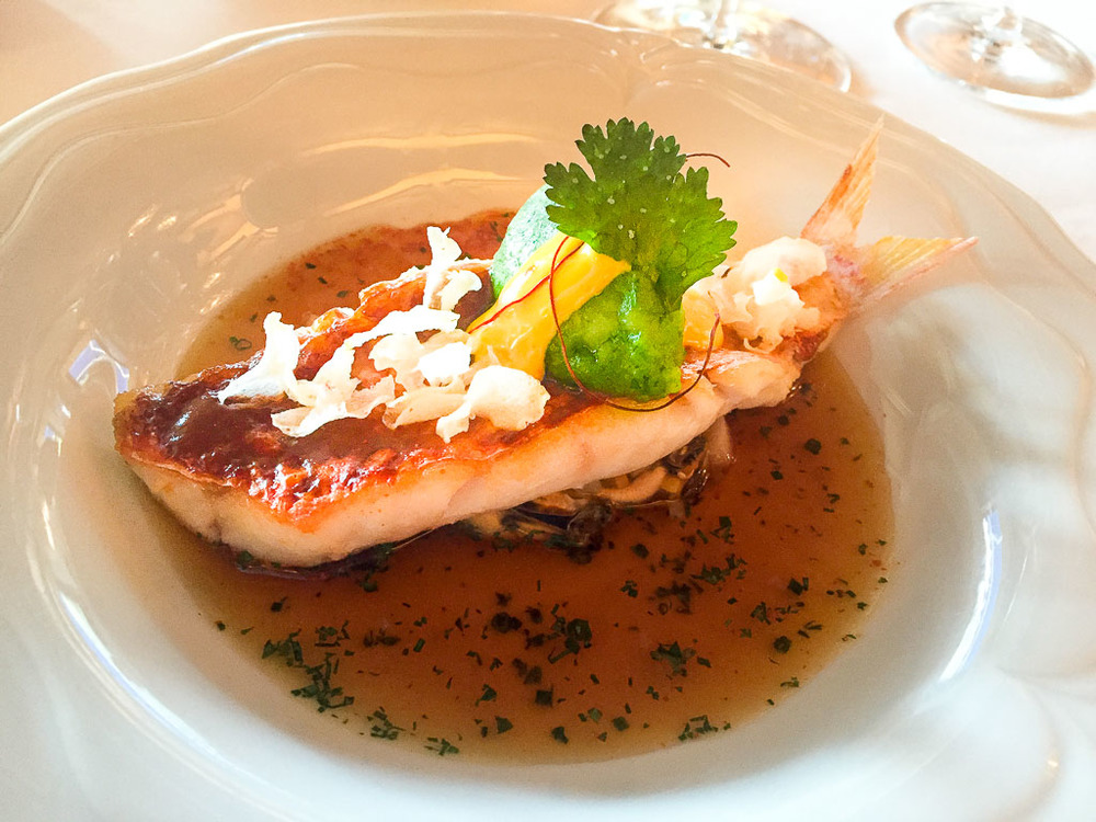 3rd Course: Red Mullet + Bouillabaisse, 10/10
