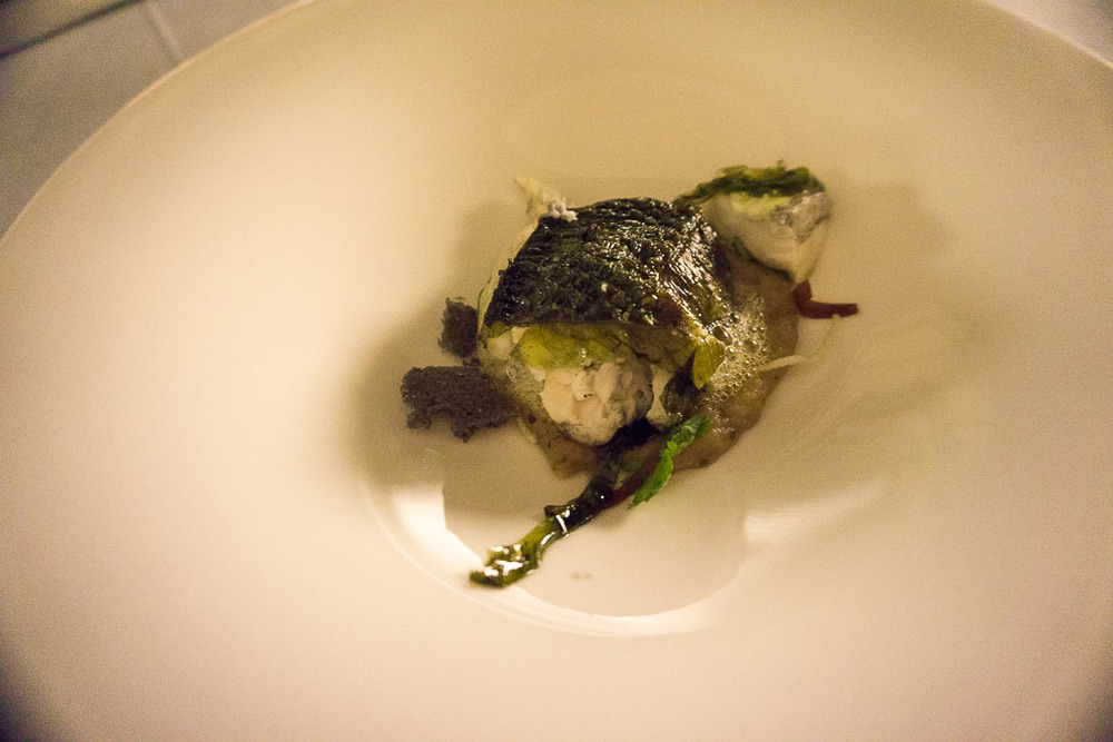 9th Course: Sea Bass, 10/10