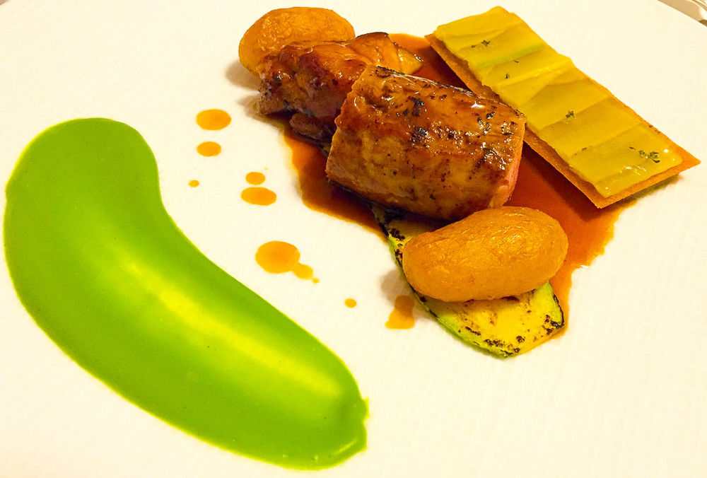 5th Course: Veal + Zucchini, 9/10