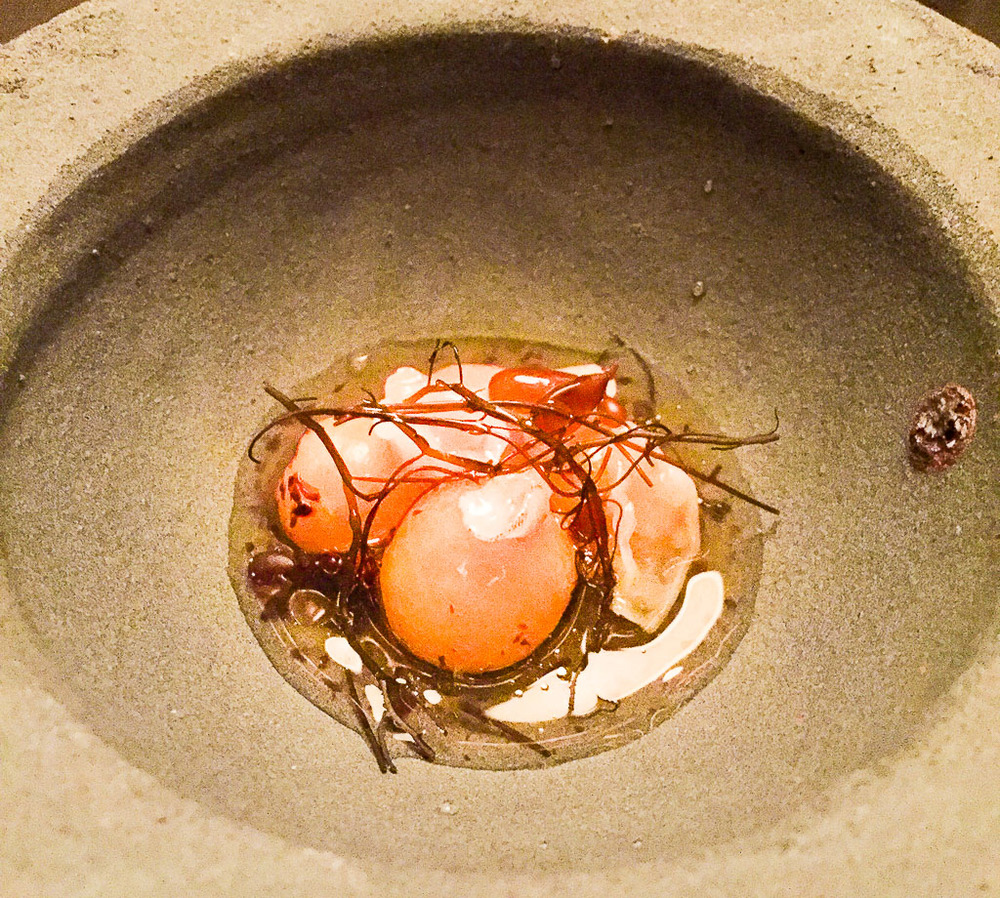 2nd Course: Cherry Tomato Dashi, 8/10
