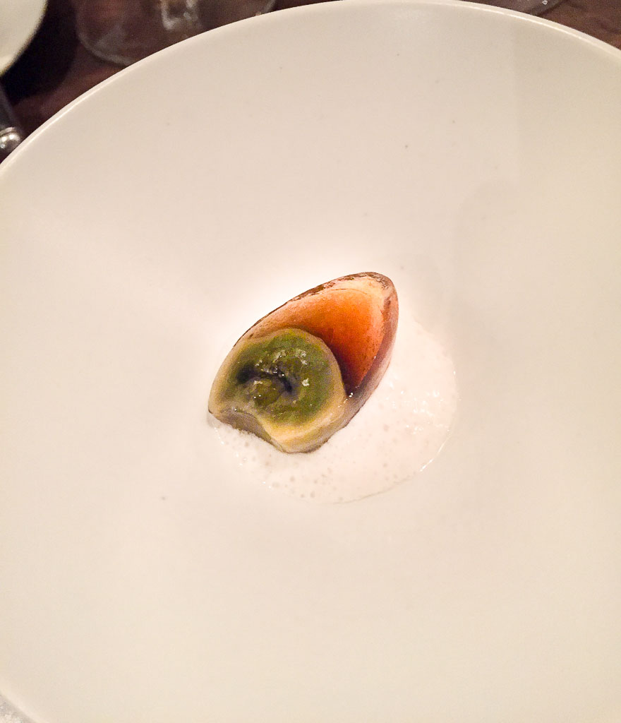 "First Course:: ""1,000 Year Quail Egg,"" 9/10"