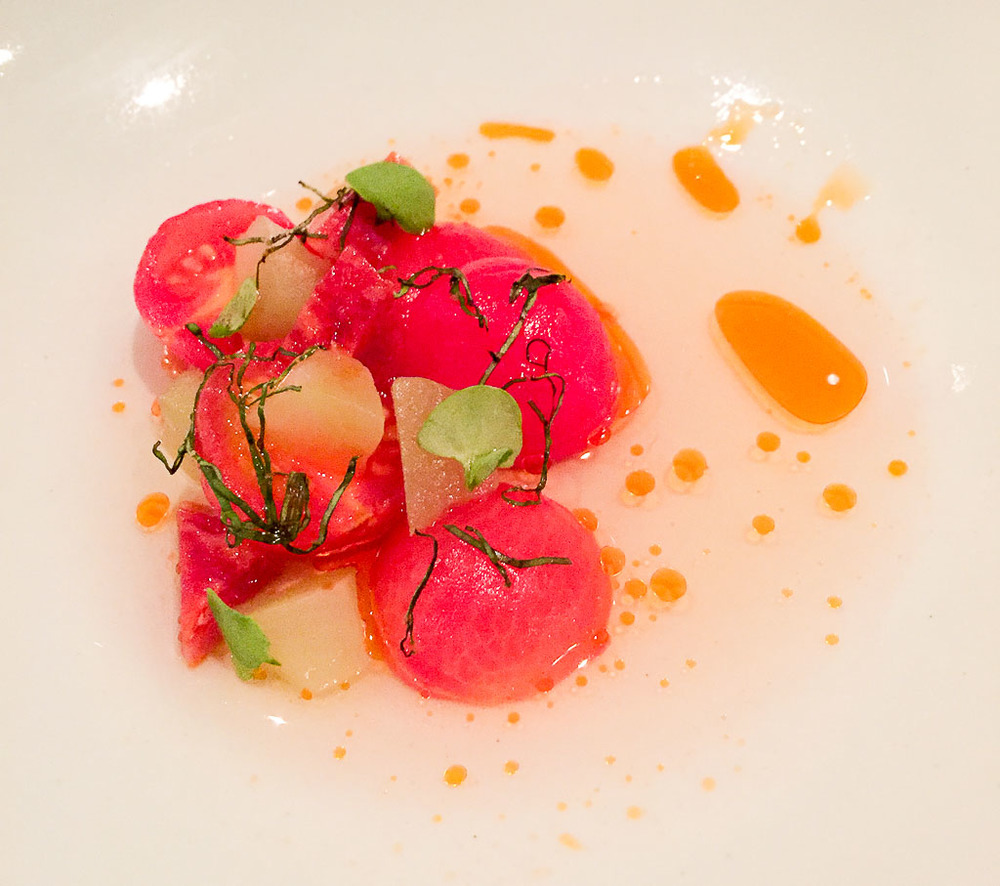 2nd Course: Tomato + Celtuce, 7/10