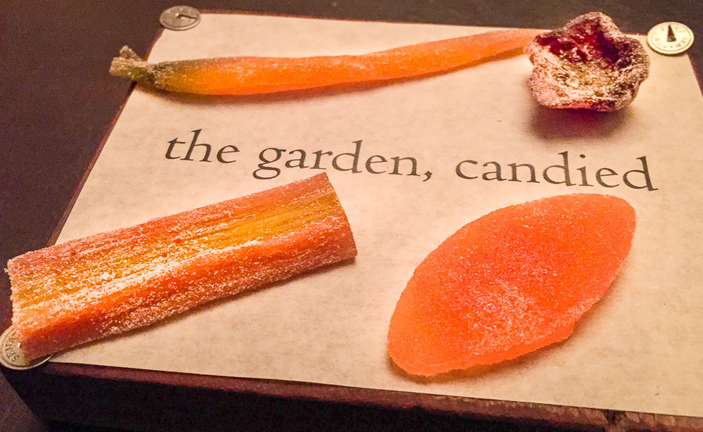 "11th Course: ""The Garden, Candied,"" 9/10"