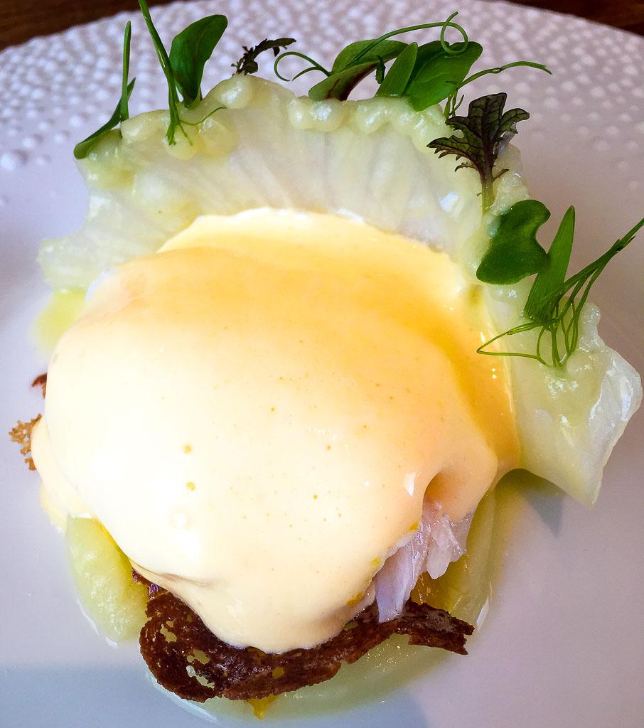 4th Course: Artichoke + Egg, 9/10