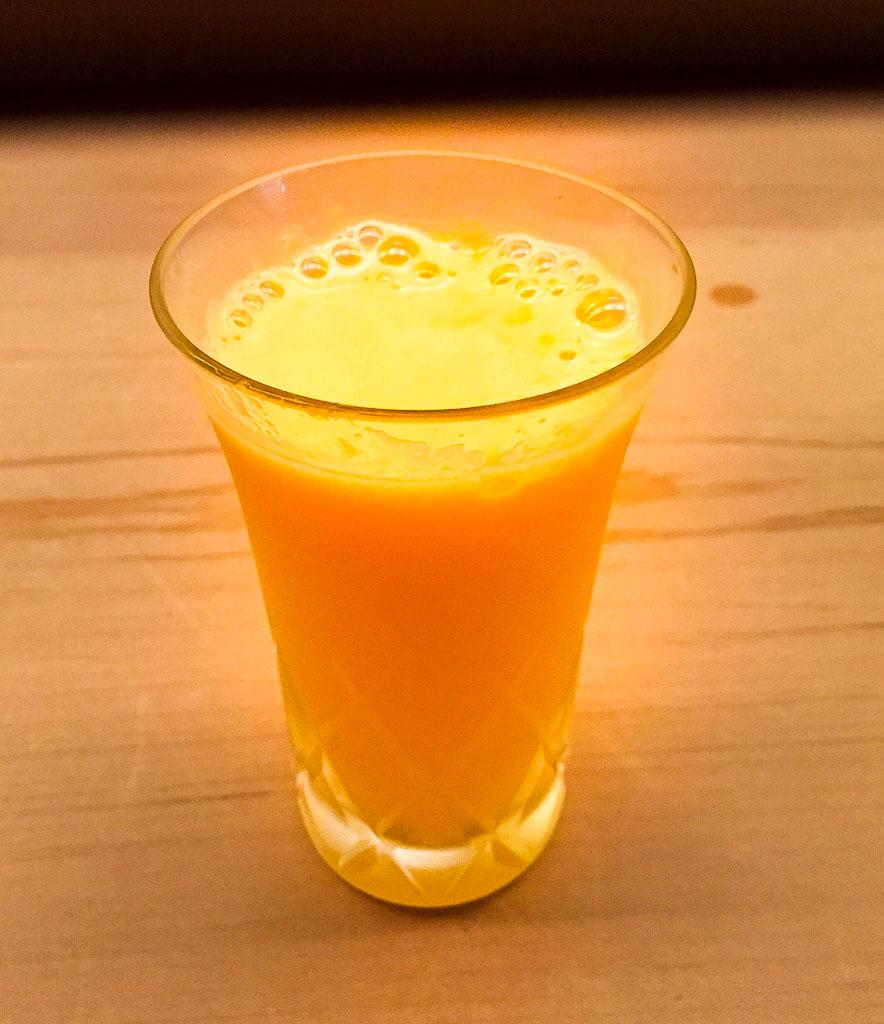 14th Course: Orange Juice, 7/10
