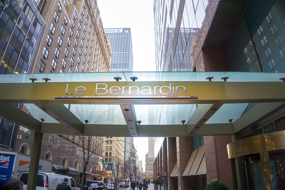 Le Bernardin Main Entrance