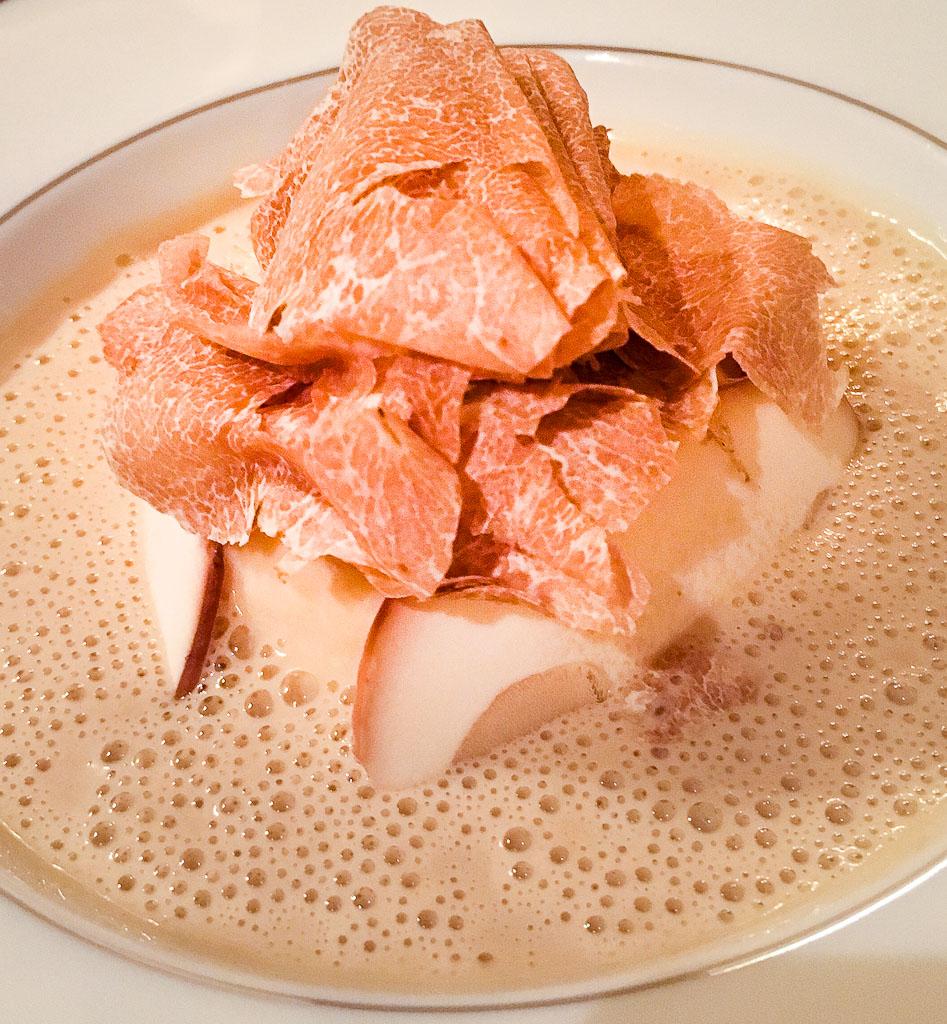 Course 2: White Truffles + White Truffles + White Truffles + Egg, 0/10