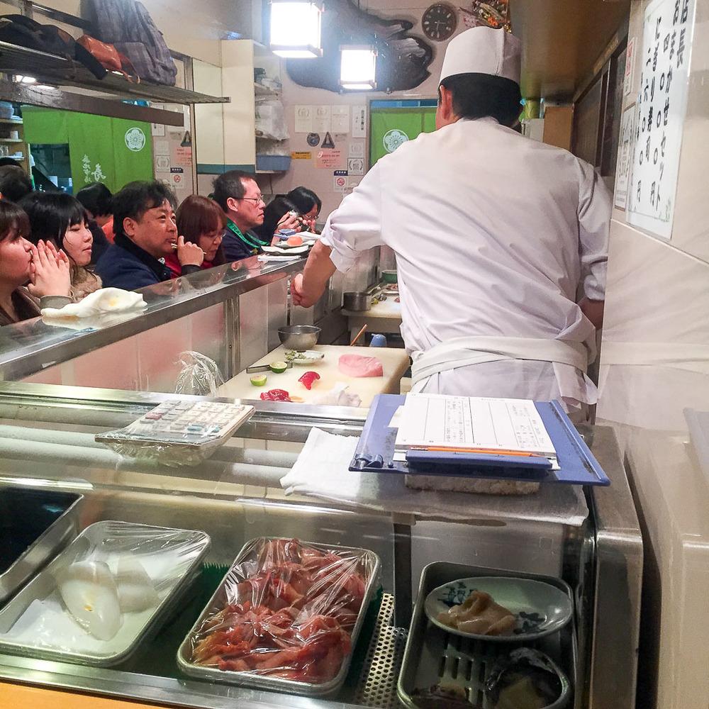 Sushi Dai Interior