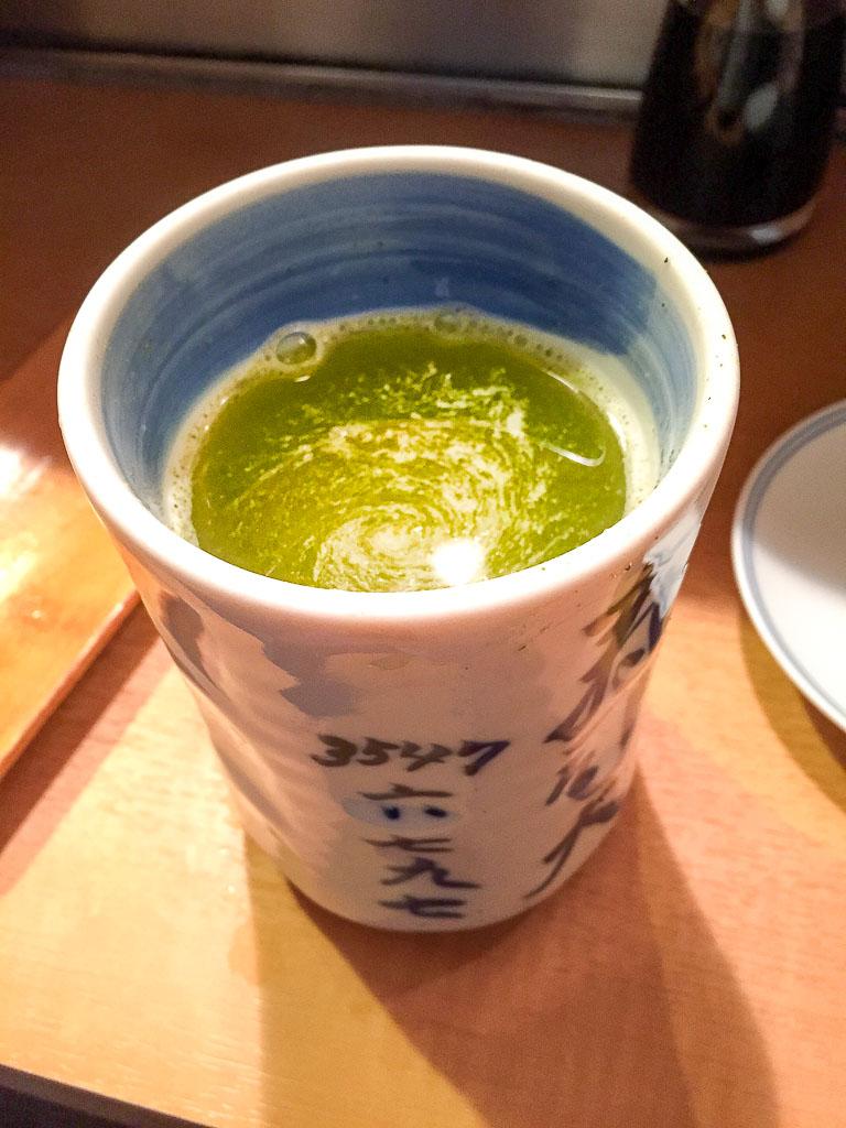 1st Round: Green Tea, 5/10