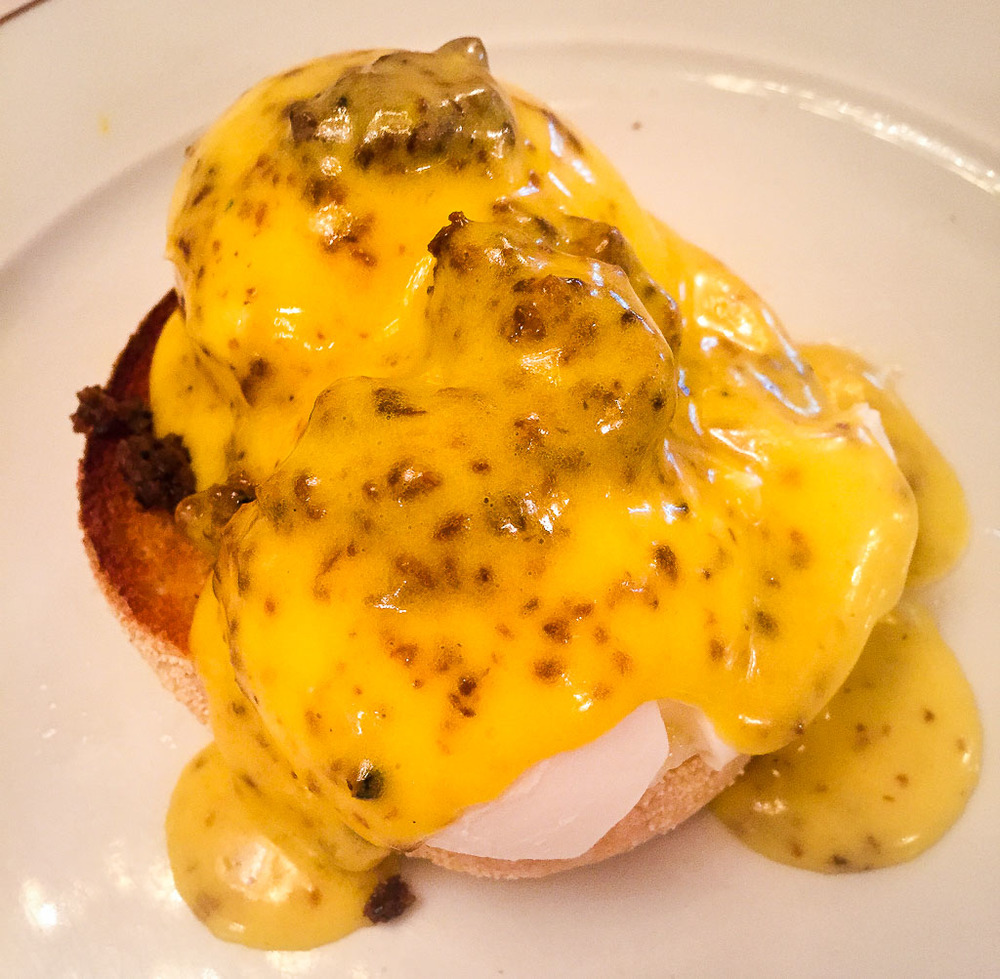 Course 2: Black Truffle Egg Benedict, 9/10