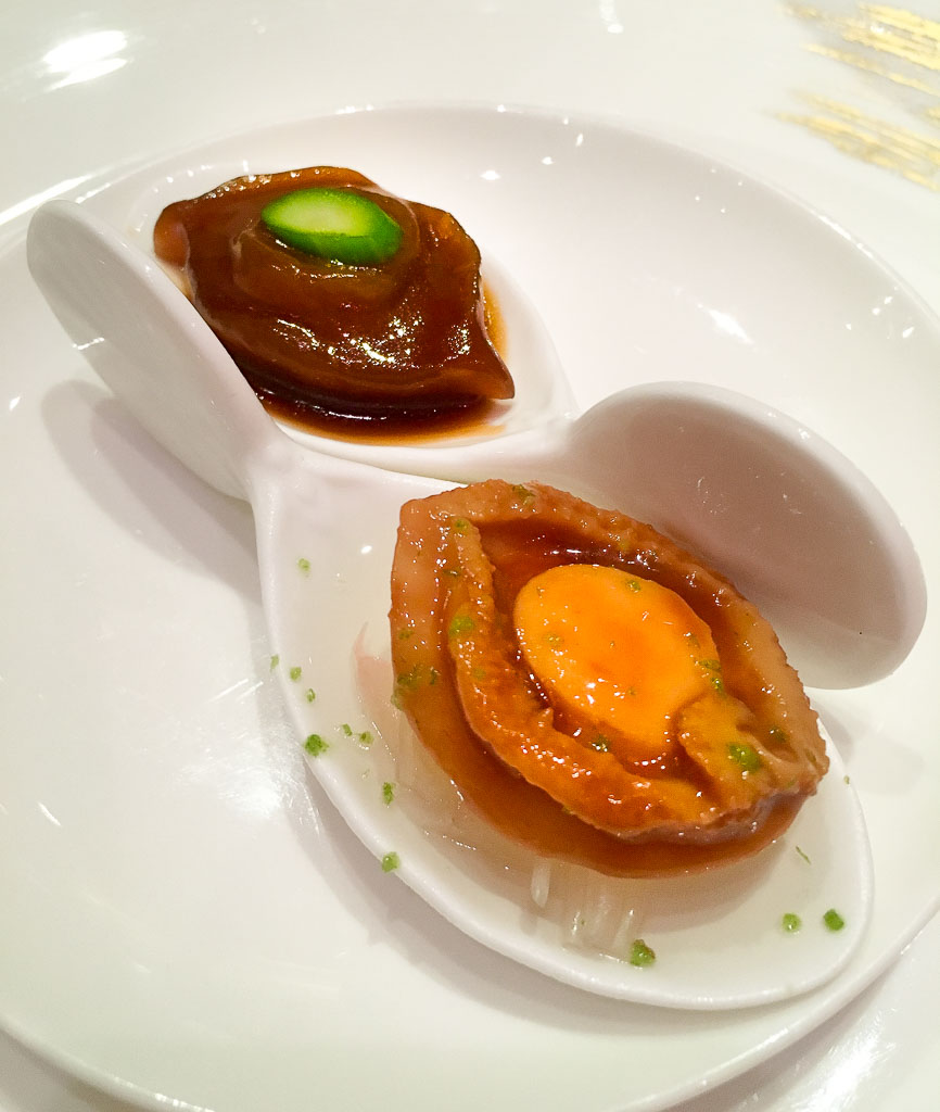 "First Bites, ""Abalone Dumpling,"" 7/10"