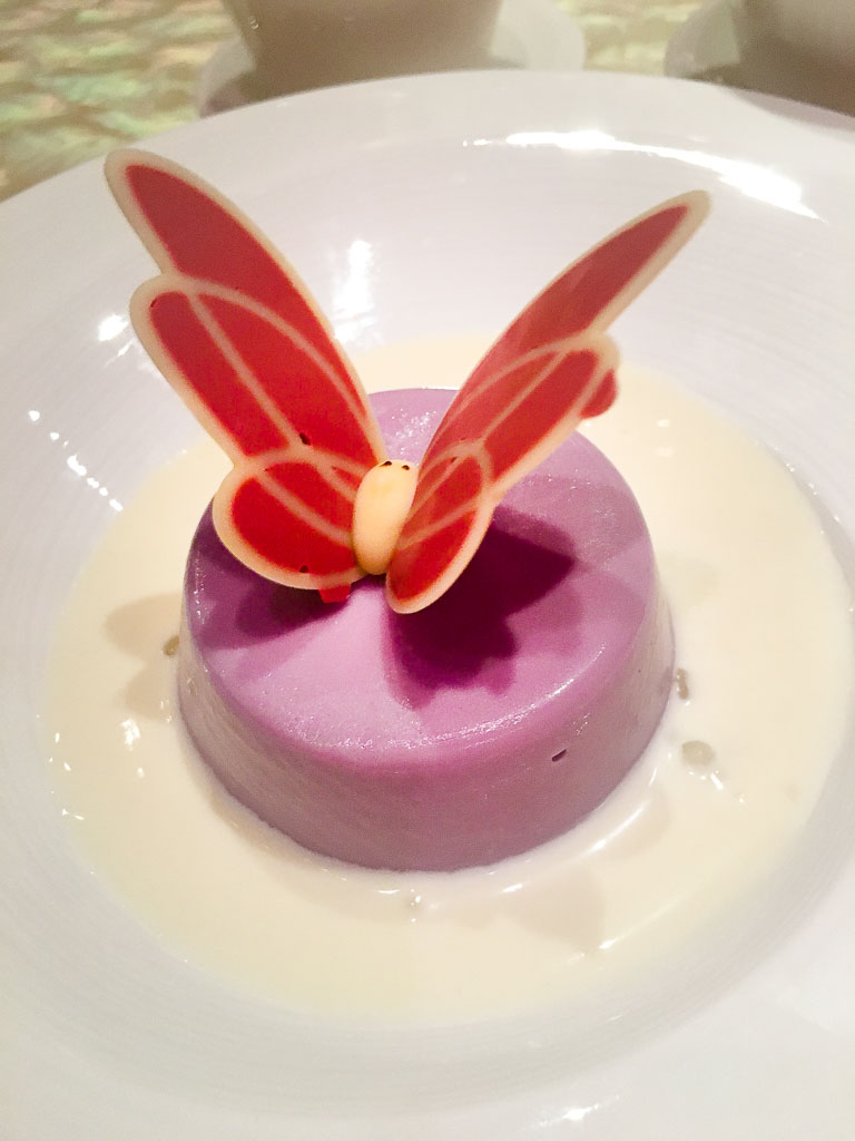 Course 7: Taro Pudding, 2/10