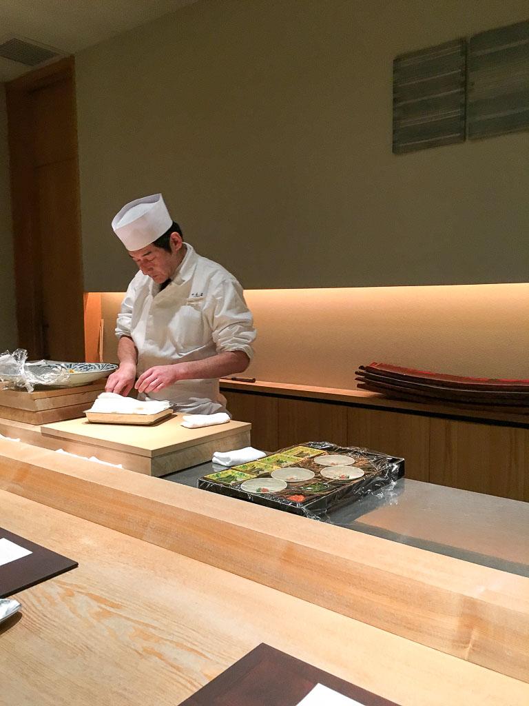 Usuki Fugu Yamadaya Chef's Counter