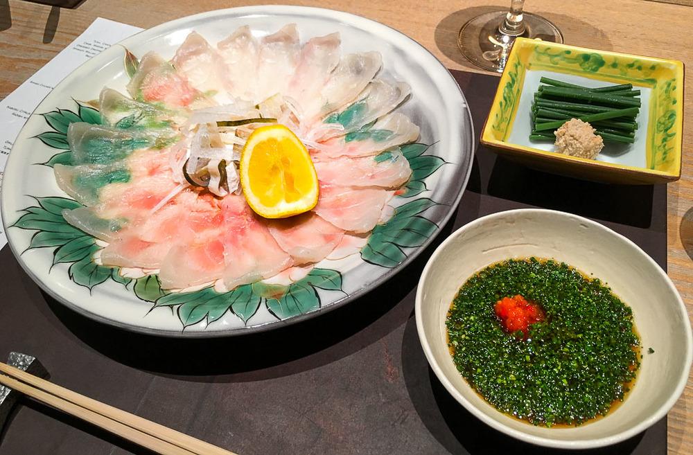 Course 2: Fugu Sashimi, 9/10