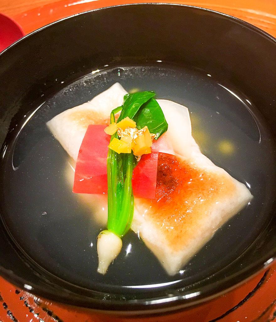 Course 1: Dashi Soup, 8/10