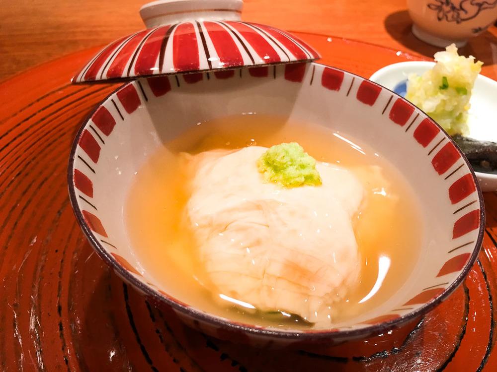 Course 8: Rice in Tofu Skin, 8/10