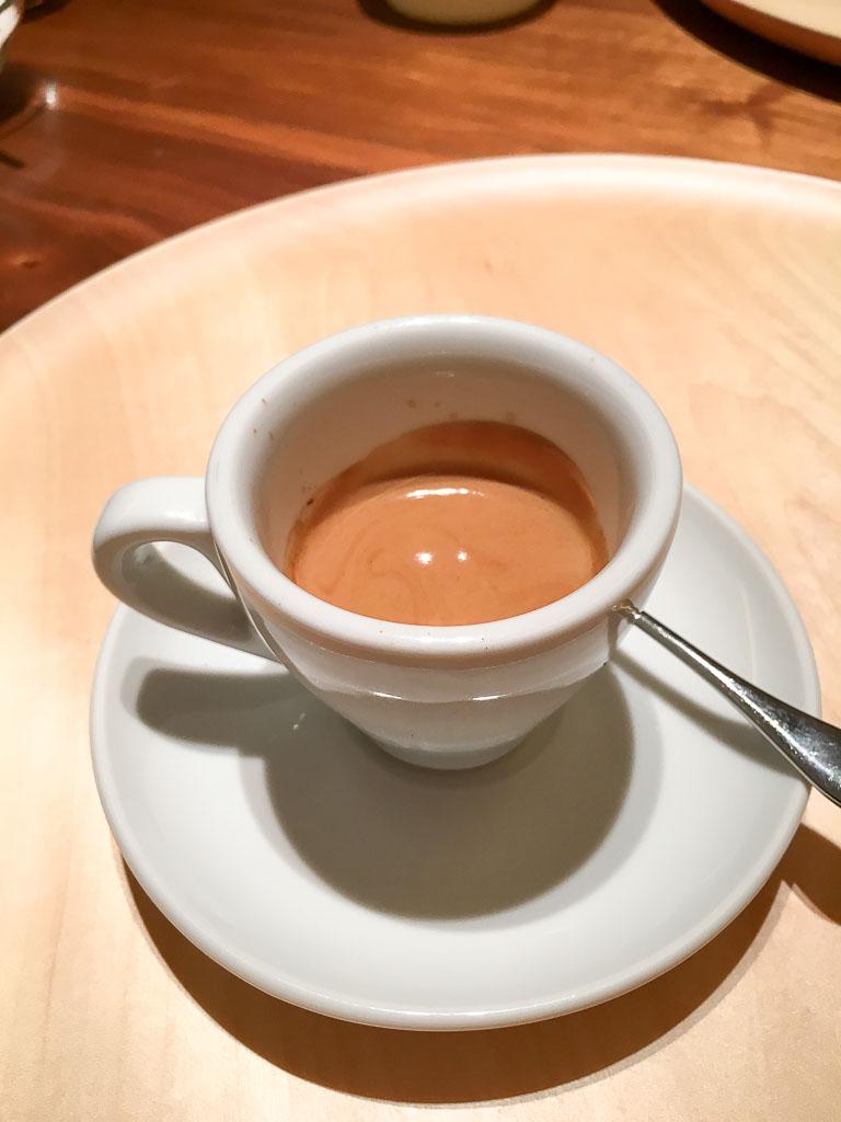 Course 6: Espresso, 8/10