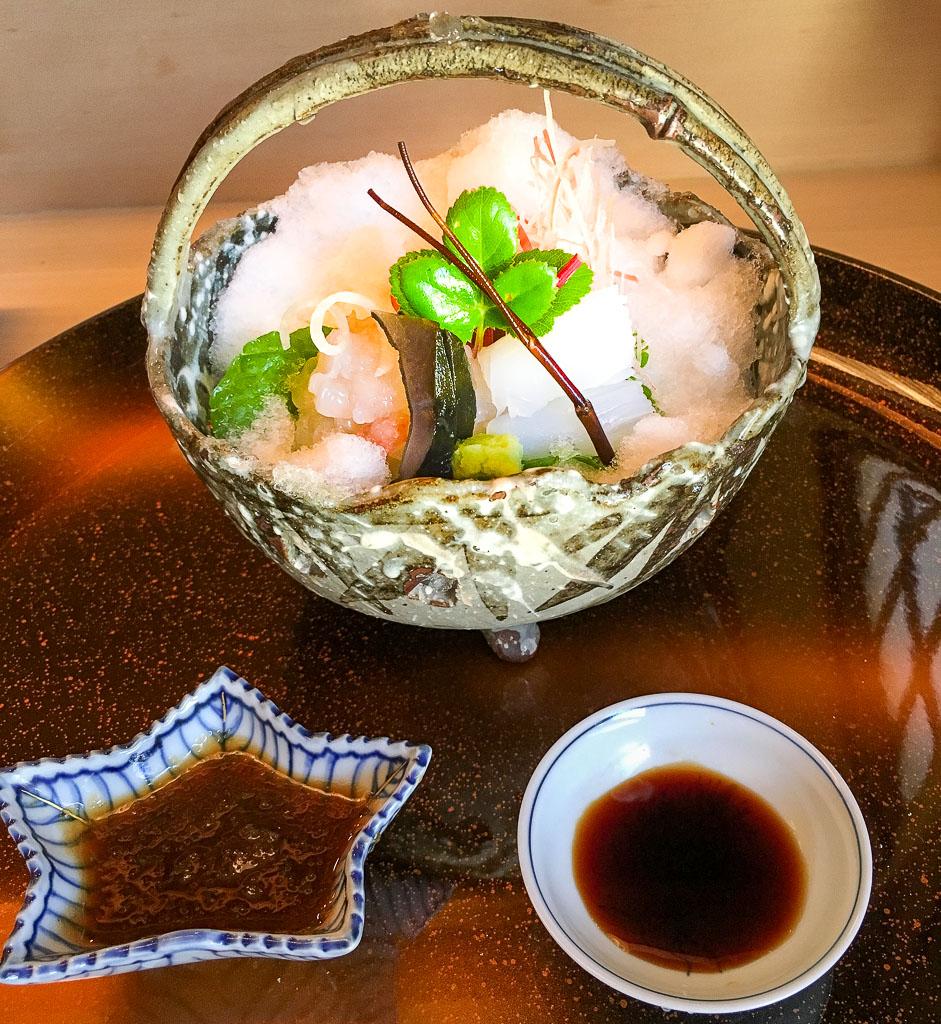 Course 4: Sashimi, 7/10