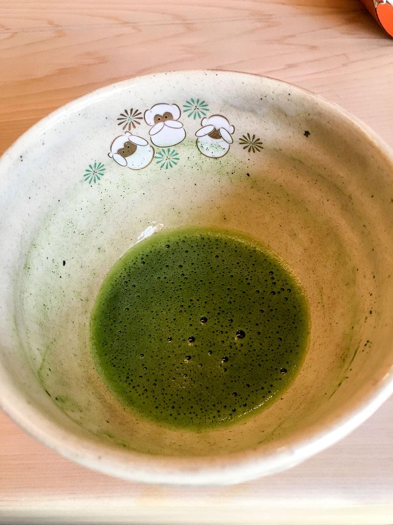 Course 13: Matcha Green Tea