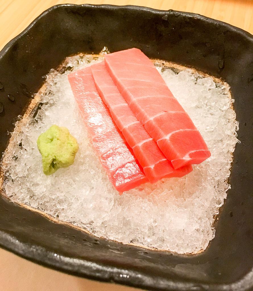 Course 2: Otoro Tuna, 9/10