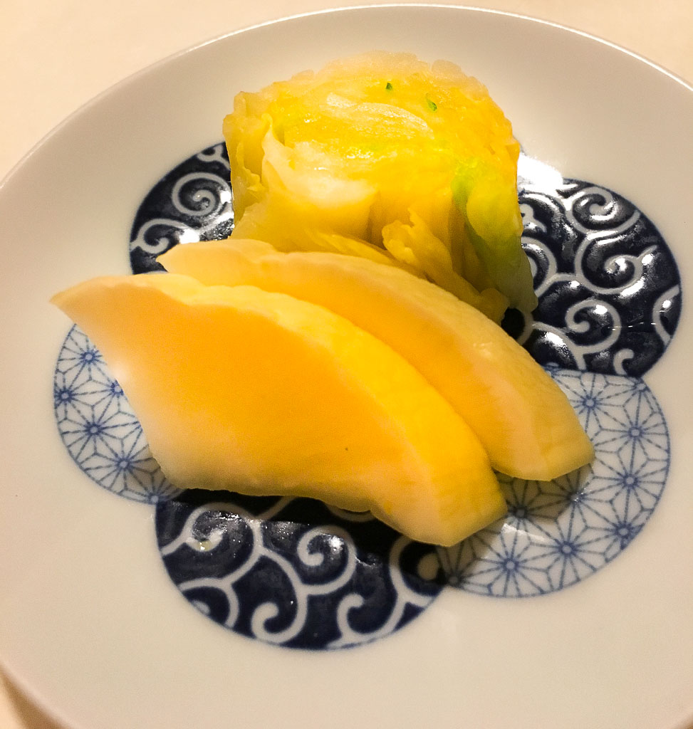 Course 10: Pickled Vegetables, 8/10