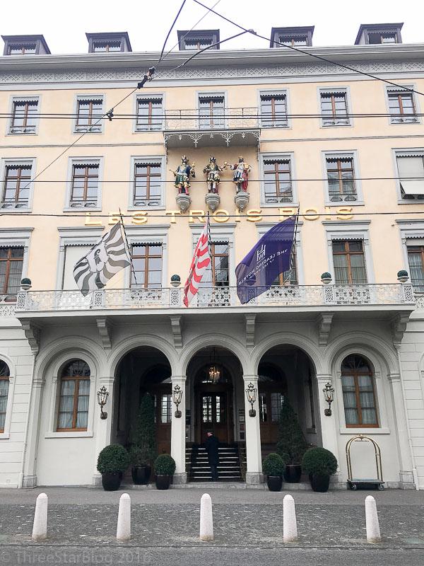 Le Cheval Blanc Exterior (Hotel Les Trois Rois)