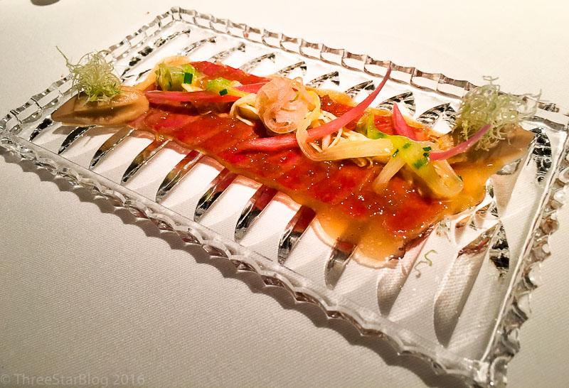 Course 8: Braised Pork Cheek + Pickled Vegetables, 7/10