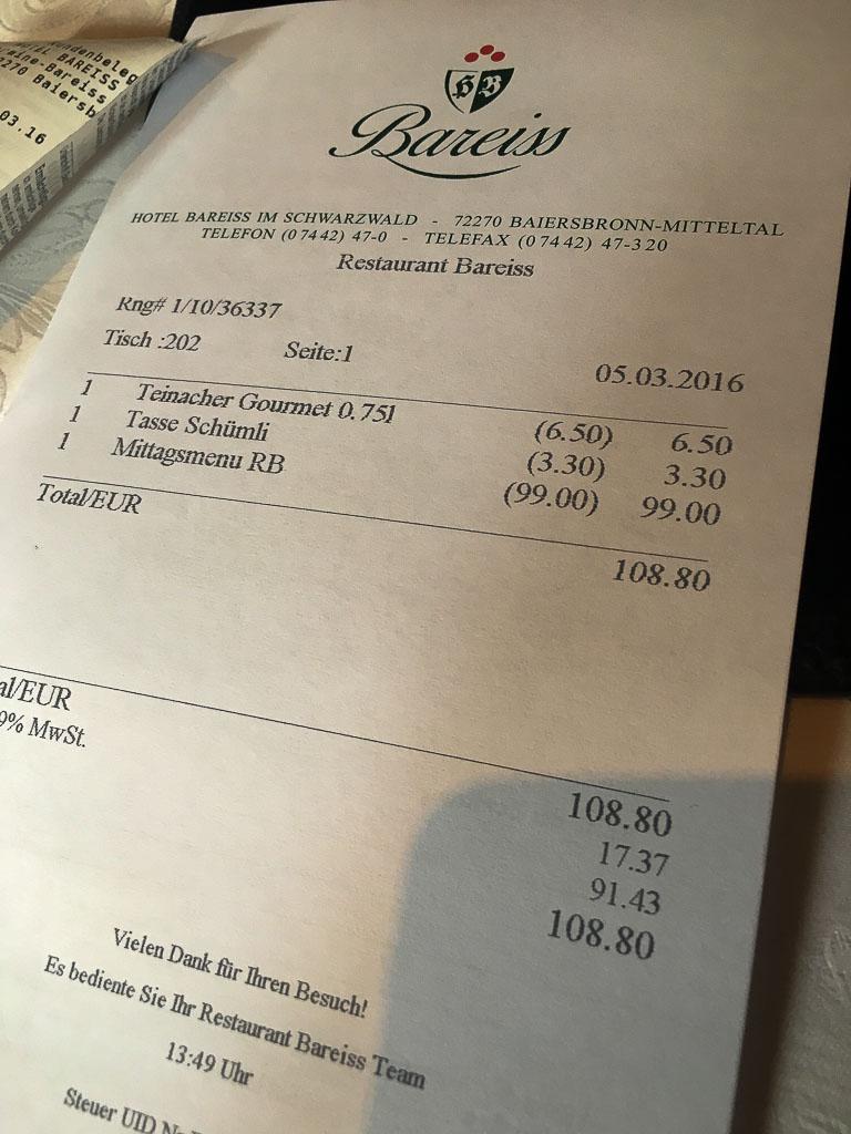 The final bill