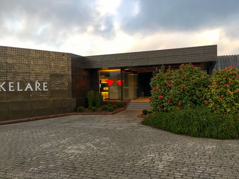 Akelarre Main Entrance