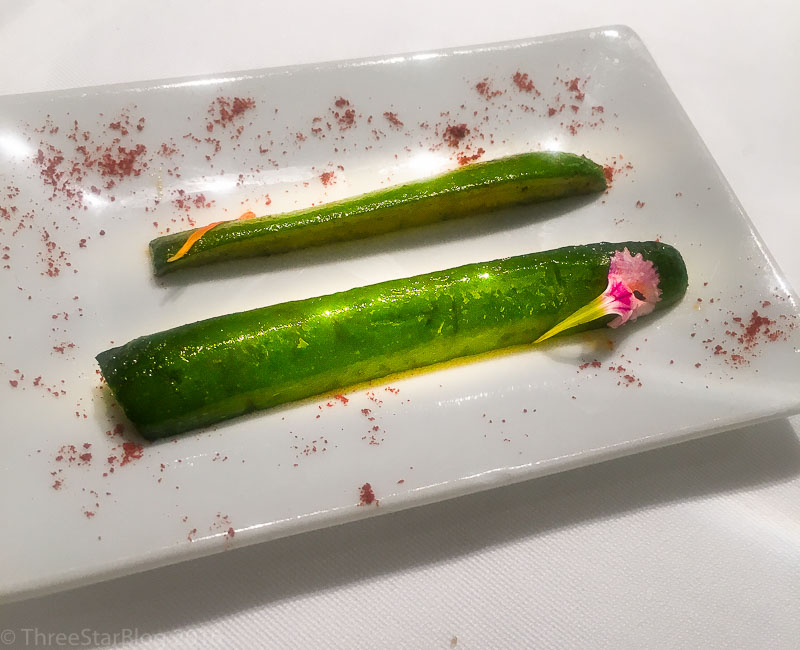 Course 3: Grilled Zucchini, 7/10