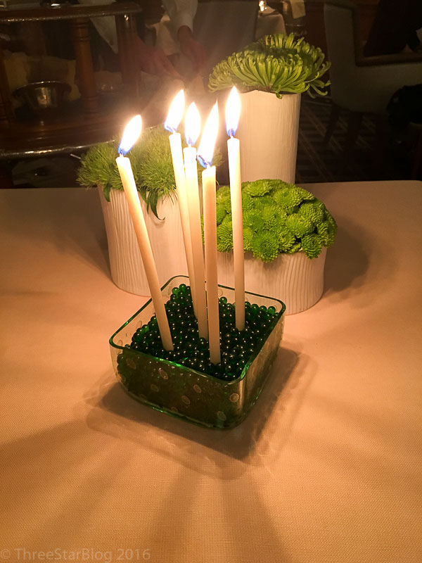 New Candle Centerpiece