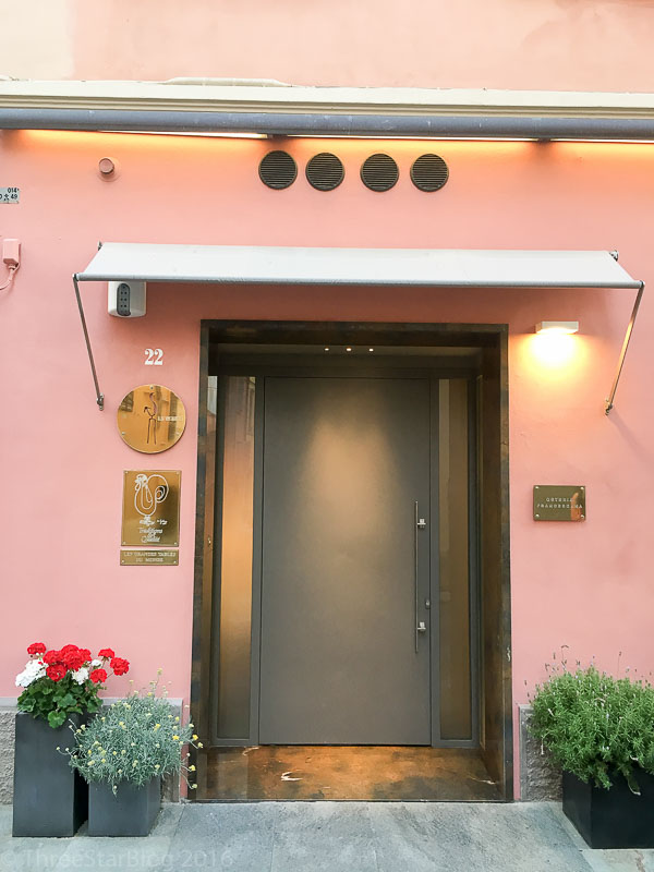 Osteria Francescana Main Entrance