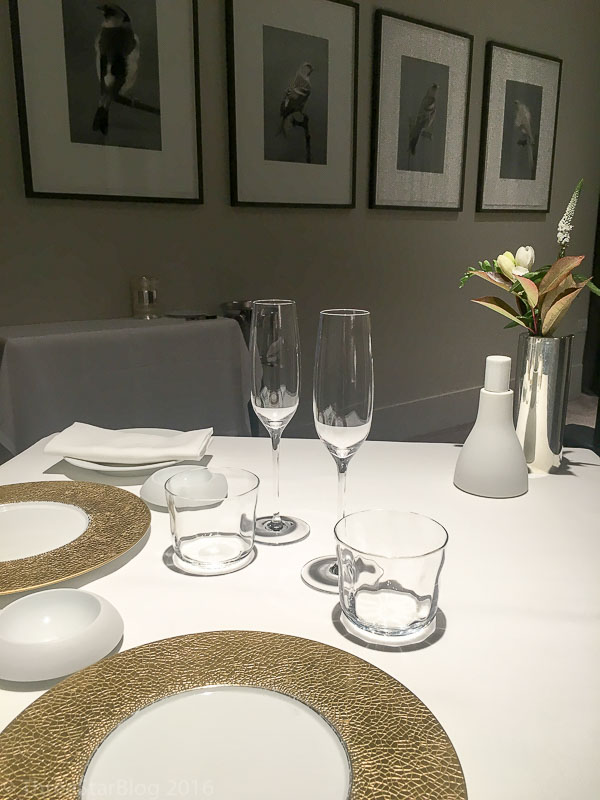 Osteria Francescana Place Setting