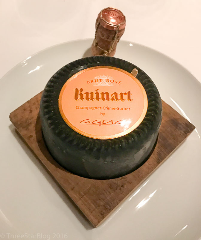 Course 6: Ruinart Champagne Cream, 9/10
