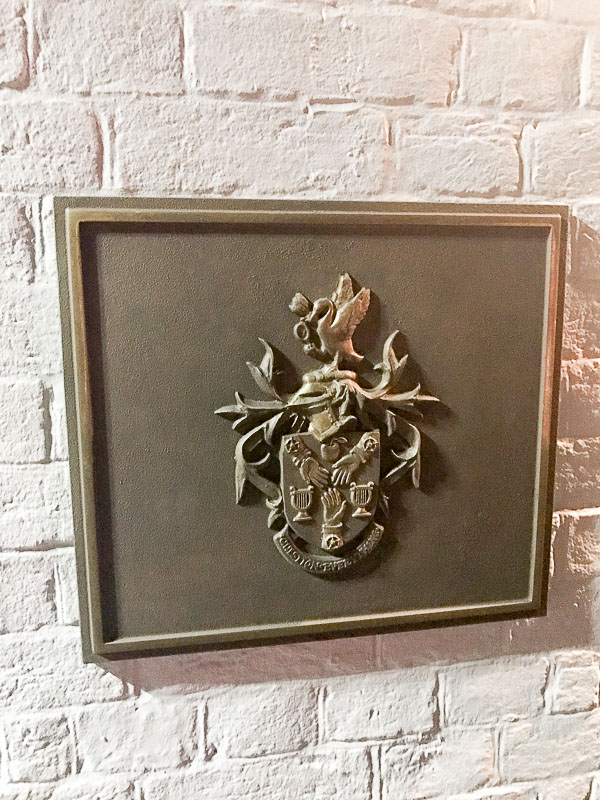 "The Fat Duck's ""Coat of Arms"""