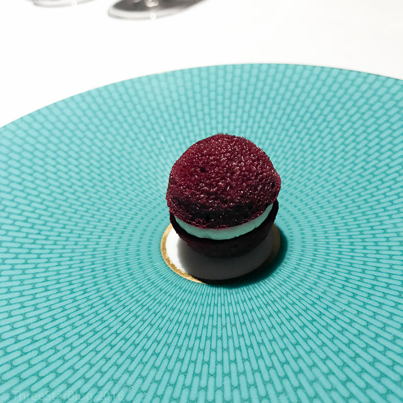 "Course 1B: ""A Change-of-Air,"" Beetroot + Horseradish, 8/10"
