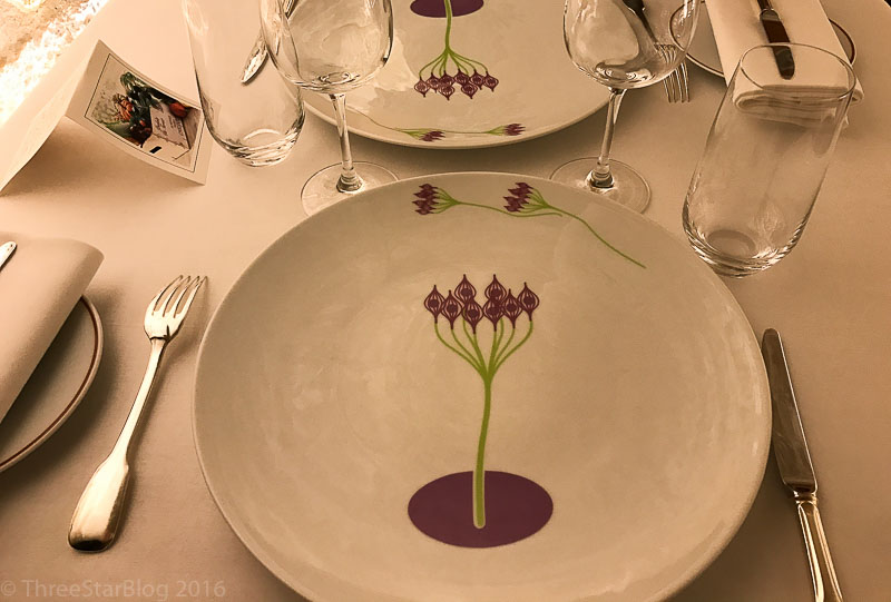 L'Arpège Place Setting