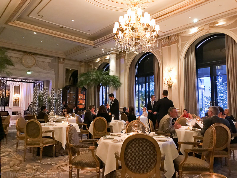 Le Cinq Dining Room