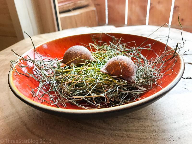 First Bites: Polenta + Hay + Saffron, 9/10