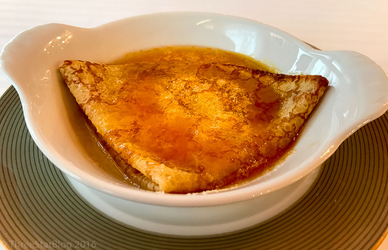 Pre-Dessert:Crêpes Suzette, 7/10